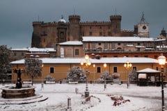 布拉恰诺城堡 图库摄影