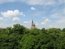 布拉戈维申斯克大教堂在哈尔科夫 图库摄影