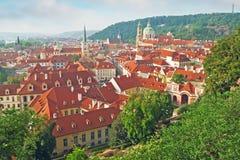 布拉格一点边 免版税库存照片
