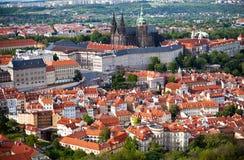布拉格全景 图库摄影