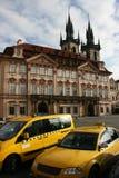 布拉格出租汽车 库存图片