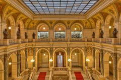 布拉格博物馆内部 图库摄影