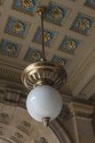 """布拉格国家戏院†""""详述了看法对装饰 免版税图库摄影"""