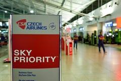 布拉格国际机场  库存图片