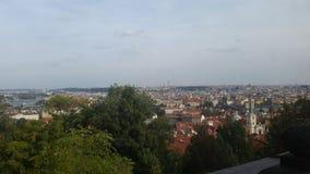 布拉格地平线 免版税库存图片
