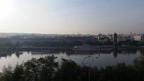 布拉格地平线 库存照片