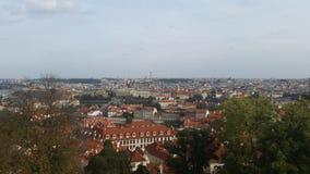布拉格地平线 库存图片