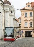 布拉格场面  免版税库存照片