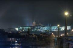 布拉格城堡。 免版税库存图片
