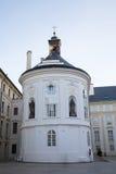 布拉格城堡庭院 库存图片