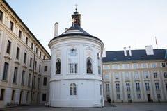 布拉格城堡庭院 图库摄影