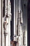布拉格城堡的St Vitus大教堂在布拉格,捷克 免版税库存照片