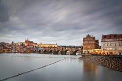 布拉格城堡,捷克。 库存照片