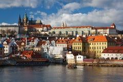 布拉格城堡,捷克。 库存图片