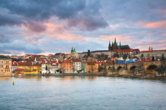 布拉格城堡,捷克。 免版税库存图片