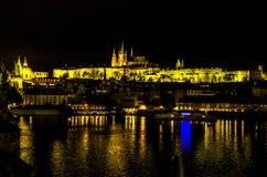 布拉格城堡,捷克2017年 免版税库存照片