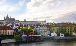 布拉格城堡,捷克2017年 免版税图库摄影