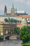 布拉格城堡,捷克 免版税图库摄影