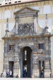 布拉格城堡, Hradcany,入口门,布拉格,捷克 库存照片