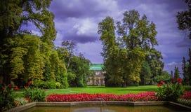 布拉格城堡, Valdštejn庭院,布拉格,捷克 库存图片