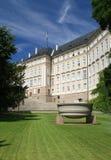布拉格城堡-天堂庭院 库存图片