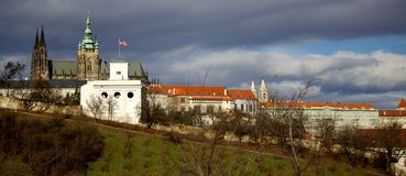 布拉格城堡 库存照片