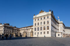 布拉格城堡 图库摄影