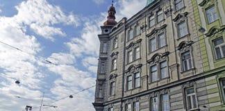 布拉格塔  免版税图库摄影