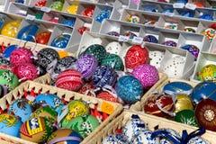 布拉格复活节市场,老镇中心,布拉格,捷克共和国 免版税库存照片