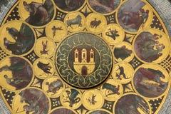 布拉格天文学时钟或orloj 库存图片