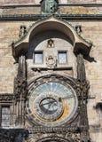 布拉格天文学时钟 免版税库存照片