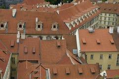 布拉格屋顶 库存图片