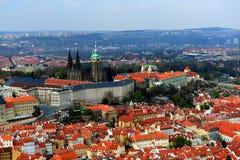 布拉格市 免版税库存照片