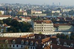 布拉格平面图 免版税库存照片