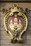 布拉格徽章城市 免版税图库摄影