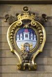 布拉格徽章城市 库存图片