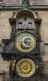布拉格时钟 库存照片