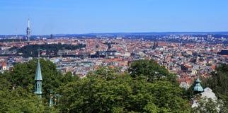布拉格有历史的中心 免版税库存照片