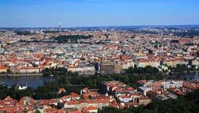 布拉格有历史的中心 库存图片