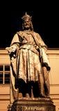 布拉格查尔斯纪念碑02 免版税库存图片