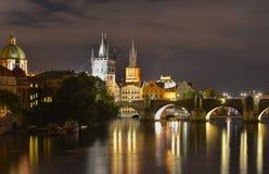 布拉格桥梁  免版税库存照片