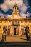 布拉格洛雷托省在夏天,捷克 免版税图库摄影