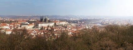 布拉格的全景 库存照片