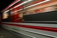 从布拉格的地铁站 免版税库存图片