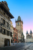 布拉格的集市广场,捷克 库存图片
