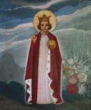 布拉格的婴儿耶稣 免版税图库摄影