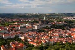 布拉格的Panoramatic视图 库存图片
