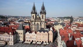 布拉格看法从小船-捷克的 影视素材