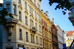 布拉格窗口 图库摄影