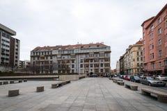 布拉格立体派建筑学 免版税图库摄影